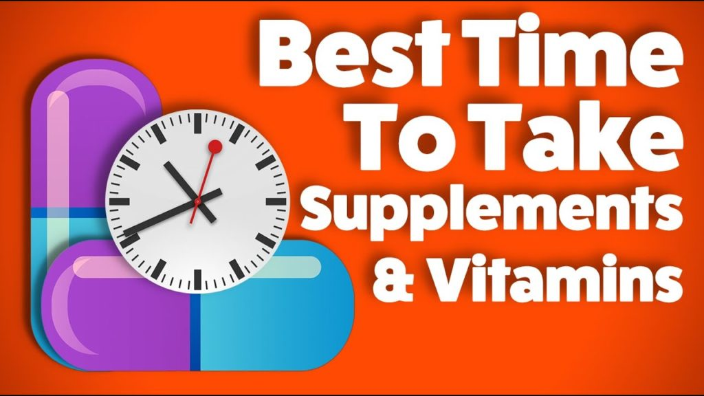 best time to take vitamins